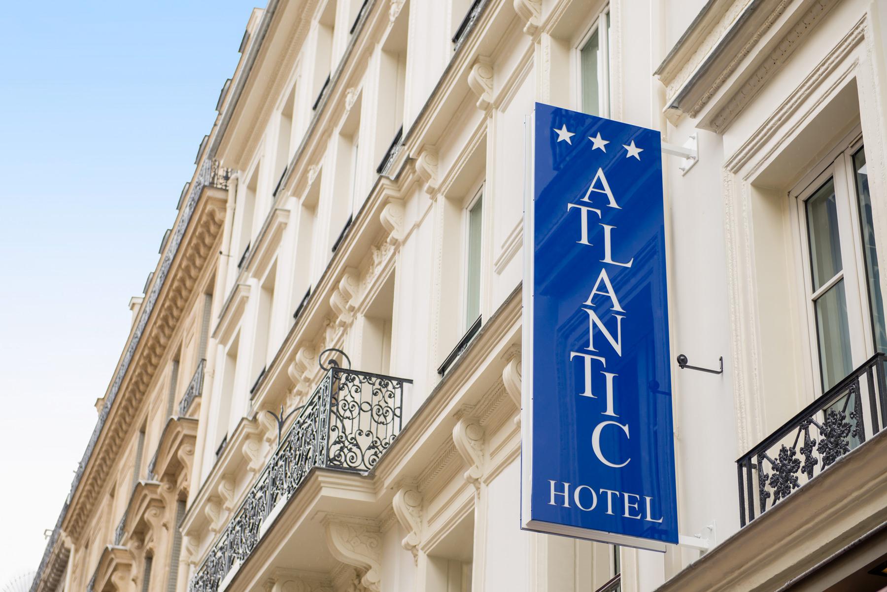 H tel atlantic paris op ra saint lazare h tel 3 for Hotel design 3 etoiles paris